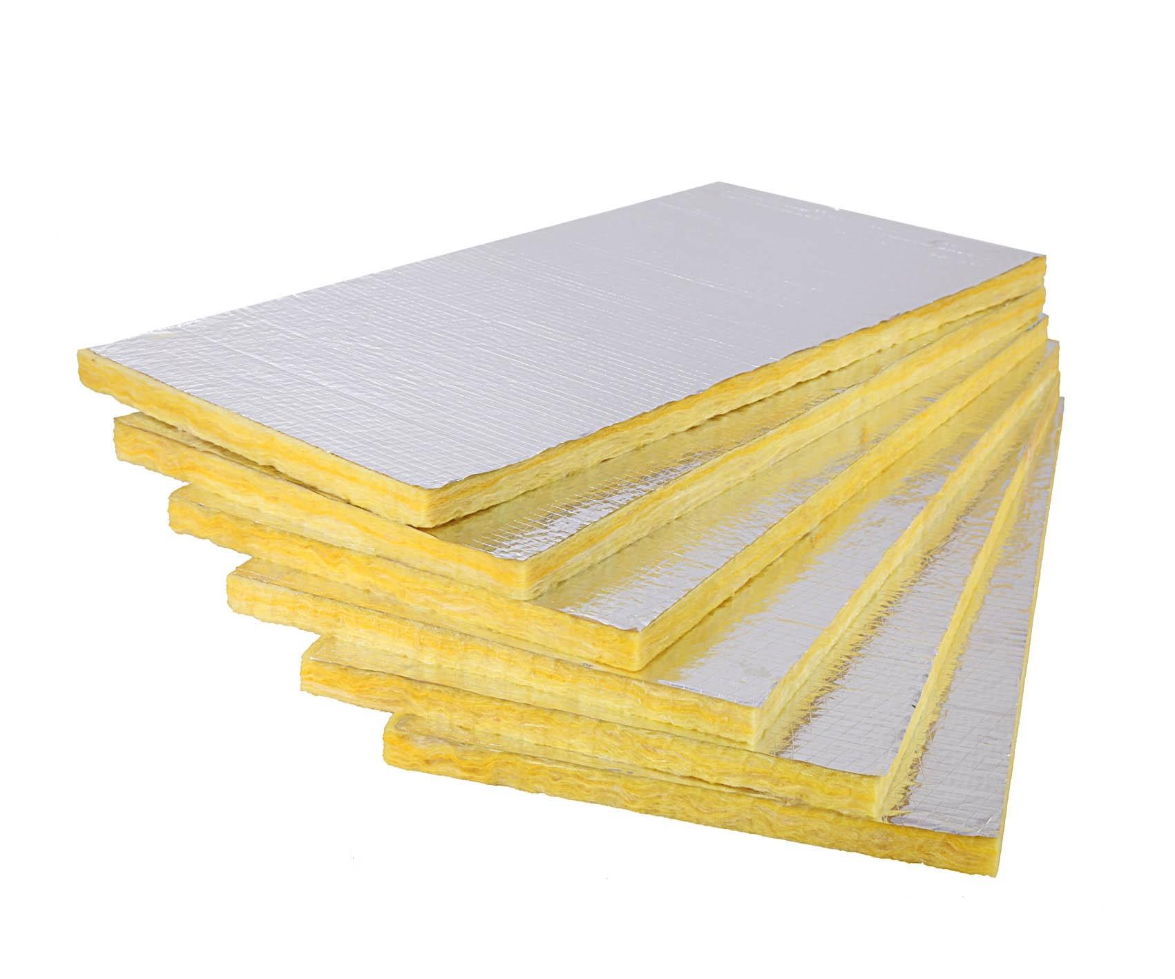 Alüminyum Folyolu Duvar Levhası (5cm) (22 kg/m3)