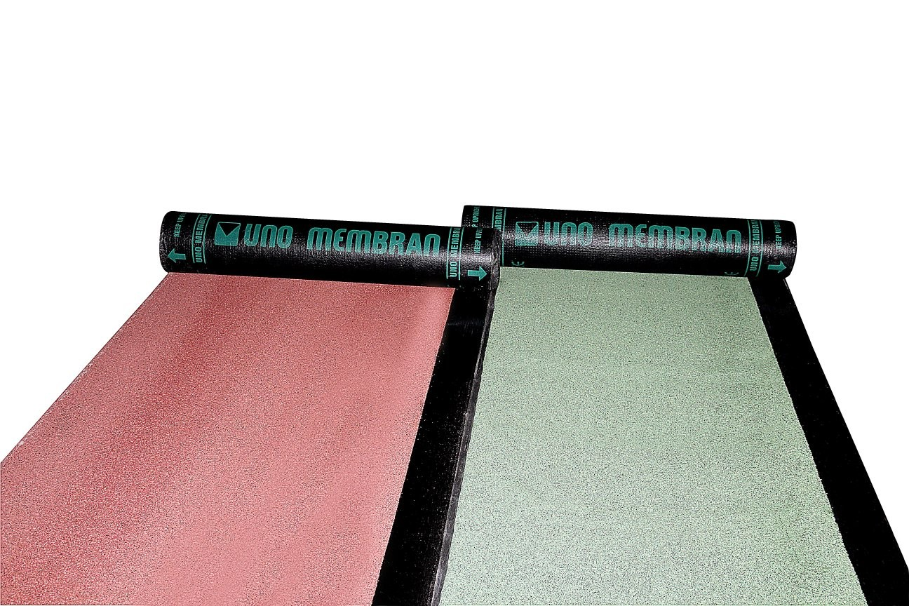 Uno SP40 Kırmızı Arduazlı Polyester Keçe Taşıyıcılı Membran