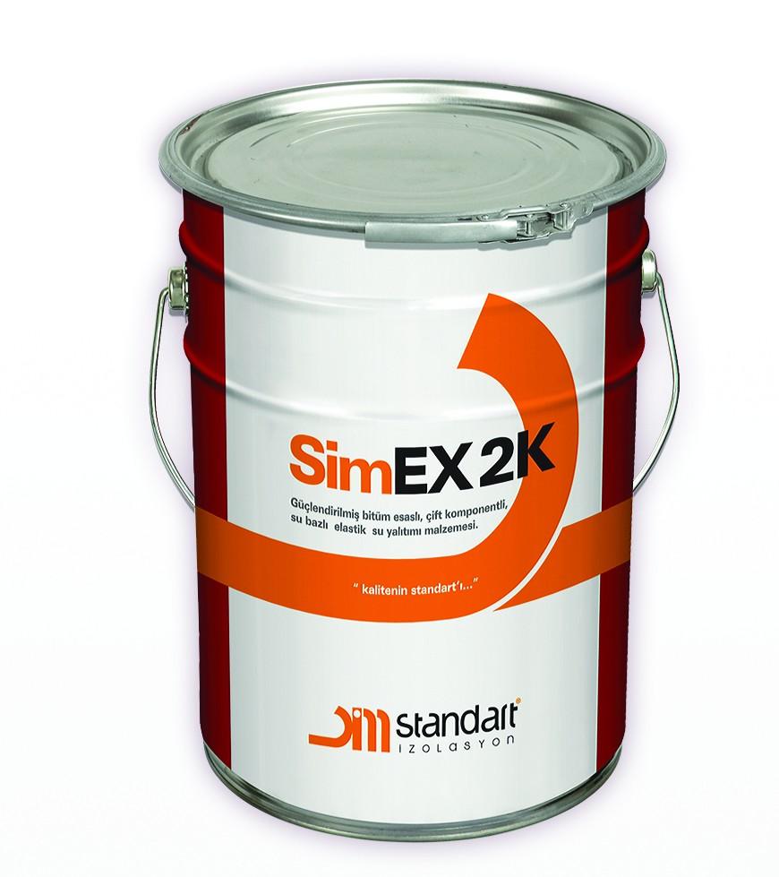 Simex 2K Bitüm Esaslı, Çift Komponentli, Bitümlü Su Yalıtım Malzemesi