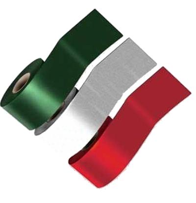 SimSelf Bant Renkli Alüminyum Folyolu Yeşil (20cm)
