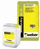 weber.dry SS-15 UV Dayanımlı Elastik Su Yalıtım Harcı (33kg set)