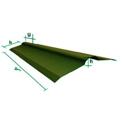 Corrubit Onduline Mahyası Yeşil 2m boy