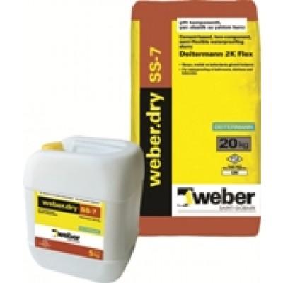 weber.dry SS-7 Yarı Elastik Su Yalıtım Harcı (Deitermann 2K Flex) (20+5kg set)