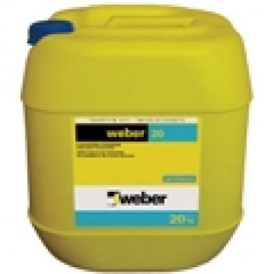 weber 20 Su Geçirimsizliği ve İşlenebilirliği Arttıran Harç ve Sıva Katkısı (5kg)