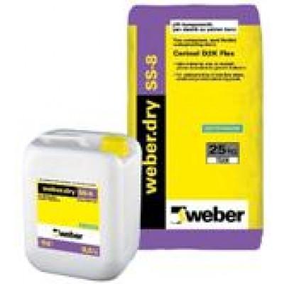 weber.dry SS-8 Yarı Elastik Su Yalıtım Harcı (Cerinol D2K Flex) (34.5kg set)