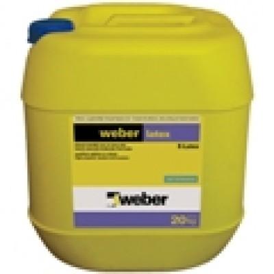 weber latex Su Geçirimsizliği ve Elastikiyeti Arttıran Harç ve Sıva Katkısı E-latex (5kg)