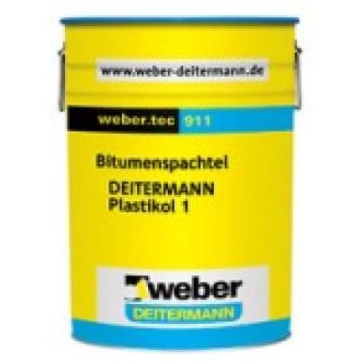 weber.tec 911 UV Işınlarına Dayanıklı Su Yalıtım Malzemesi (Plastikol 1) (14kg)