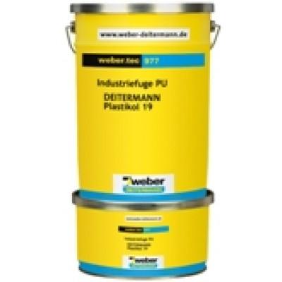 weber.tec 977 Hidrokarbon-Poliüretan Esaslı Çift Bileşenli Dolgu Malzemesi (Plastikol 19) (12kg)