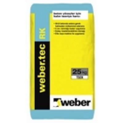 weber.tec RK Polimer Modifiyeli, Kalın Uygulanabilen Beton Tesivye Harcı (25kg)
