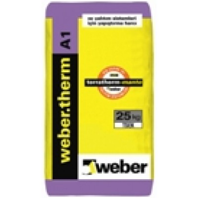 weber.therm A1 Isı Yalıtım Levhası Yapıştırma Harcı (25kg)