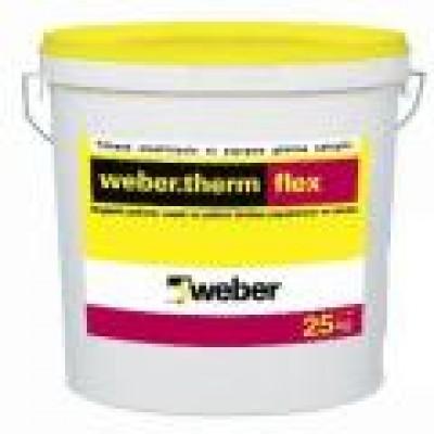 weber.therm flex Isı Yalıtım Levhası Yapıştırma ve Sıva Harcı (25kg)