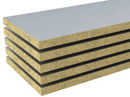 Alüminyum Folyolu Dış Cephe Levhası (6cm) (50 kg/m3)