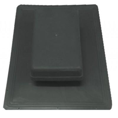 Shingle Havalandırma Bacası (Kapaklı) (Siyah)