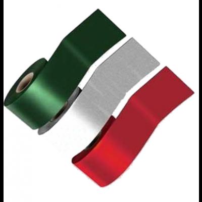 SimSelf Bant Renkli Alüminyum Folyolu Kırmızı (10cm)